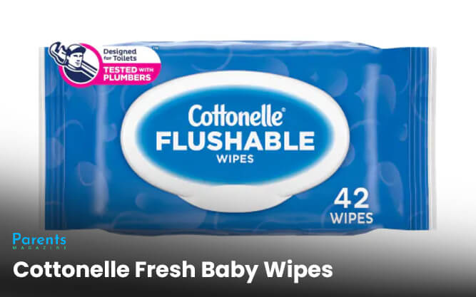 Cottonelle Fresh Baby Wipes