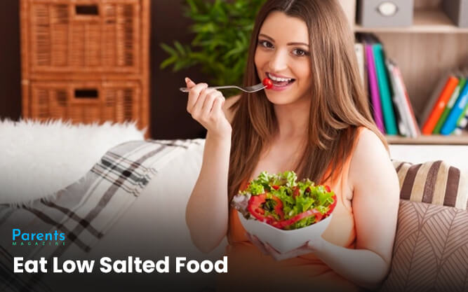 Eat Low Salted Food