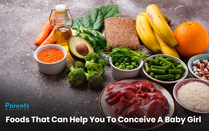 Foods That Can Help You To Conceive A Baby Girl
