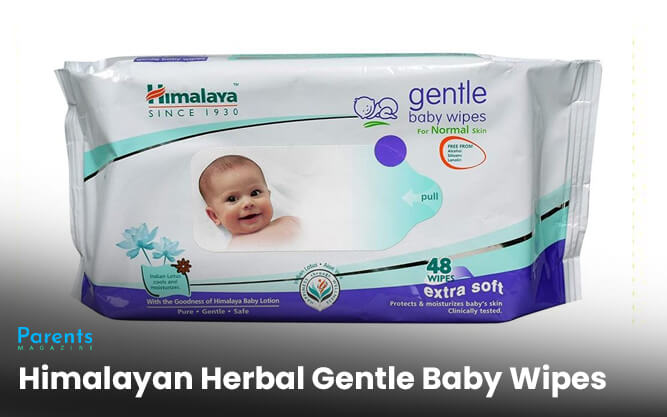 Himalayan Herbal Gentle Baby Wipes