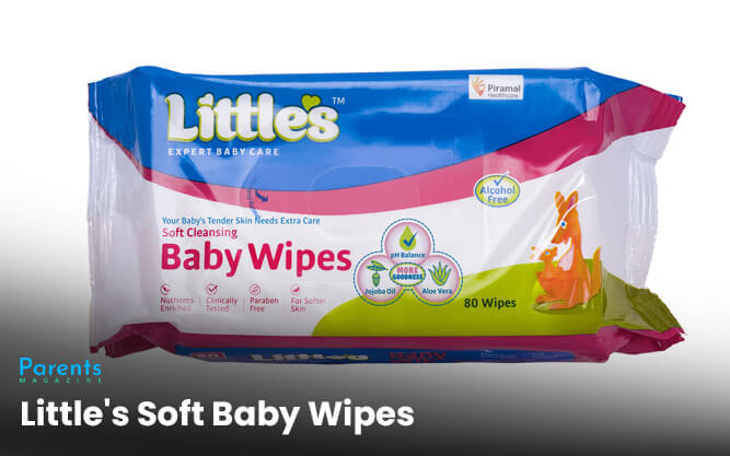 Little's Soft Baby Wipes