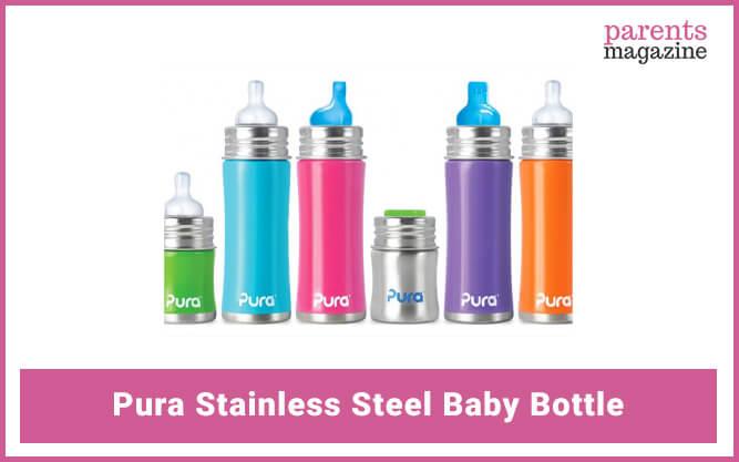 Pura Stainless Steel Baby Bottle